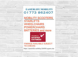 MOBILITY EQUIPMENT servicing and sales