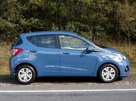 Hyundai i10, 2015 (65) Blue Hatchback, Manual Petrol, 53,428 miles, 01443 831670
