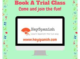 Beginners and Advanced Spanish Classes for Kids!