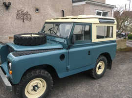 Land Rover Series II, 1963 (A) Blue other, Manual Petrol, 35600 miles