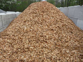 Woodchip bedding for sale £15 per tonne