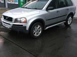 Volvo Xc90, 2004 (54) Silver Estate, Semi auto Petrol, 126 miles