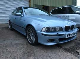 BMW 5 Series, 2000 (W) Blue Saloon, Manual Petrol, 146,000 miles