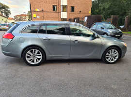 Vauxhall Insignia, SRi 2012 (12) Silver Estate, Automatic Diesel, 127,000 miles