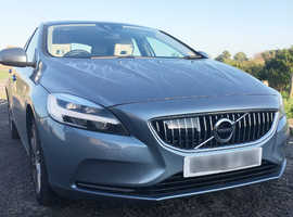 Volvo V40, 2018 (68) Blue Hatchback, Automatic Petrol,  ONLY 7,272miles