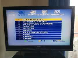"Sony Bravia 46"" widescreen HDTV"