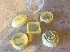 Home made achne soap