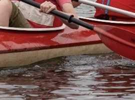 Lost Red Kayak
