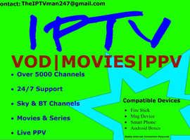 Iptv 12 month subscription
