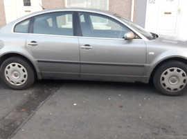 Volkswagen Passat, 2003 (53) Grey Saloon, Manual Diesel, 222,211 miles