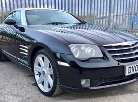Chrysler Crossfire, 2005 (05) Black Coupe, Automatic Petrol, 88,892 miles