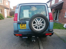 Land Rover Discovery, 2000 (W) Blue Estate, Automatic Diesel, 124,000 miles