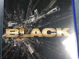 Black Playstation 2 Game