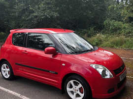 Suzuki Swift, 2007 (07) Red Hatchback, Manual Petrol, 73,000 miles
