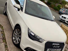 Audi A1, 2013 (13) White Hatchback, Manual Petrol, 81,000 miles