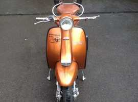 Lambretta TV 175 With RB 250 Engine 1963 Genuine Italian Frame
