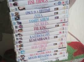 18 Danielle Steele dvds