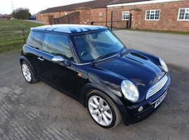 Mini MINI, 2004 (04) Black Hatchback, Manual Petrol, 76,960 miles