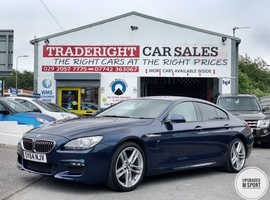 2014/64 BMW 640d 3.0 M-Sport Gran Coupe Automatic finished in Deep Ocean Blue Metallic. , 32,545 miles