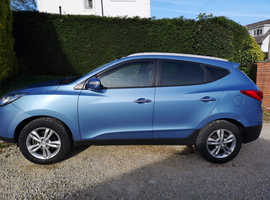 Hyundai Ix35, 2012 (12) Blue Estate, Manual Diesel, 90,000 miles