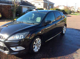 Ford Focus, 2009 (59) Black Hatchback, Manual Petrol, 113,028 miles
