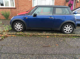 Mini MINI, 2002 (52) Blue Hatchback, Manual Petrol, 90,000 miles