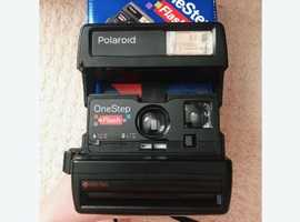 NEW,Polaroid One Step Flash Camera