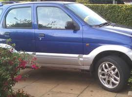Daihatsu Terios, 2005 (05) Blue hatchback, Manual Petrol, 35417 miles