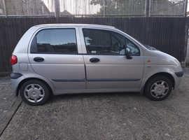 Daewoo Matiz, 2004 (53) Silver Hatchback, Manual Petrol, 36,350 miles
