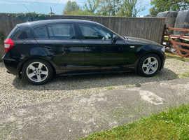 BMW 1 series, 2005 (55) Black Hatchback, Manual Diesel, 61,189 miles