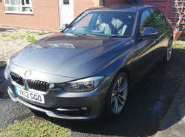 BMW 3 Series, 2012 (12) Grey Saloon, Manual Diesel, 118,000 miles