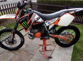 Ktm 250cc SX 2 stroke ( read AD)
