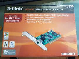 *** REDUCED*** UNOPENED D-Link DGE-528T Gigabit PCI Desktop Adaptor