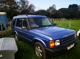 Project Land Rover Discovery, 2001 (Y) Blue Estate, Manual Diesel, 142,000 miles