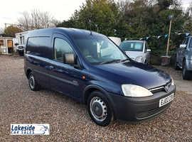 Vauxhall Combo Panel Van, 1.7 litre Diesel, Long MOT (Exp Jan 2021), NO VAT.