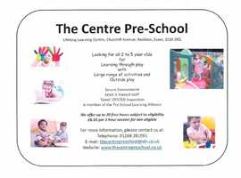 Local Pre-School - The Centre Pre-School