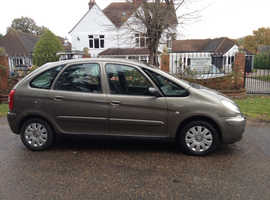 CITROEN XSARA PICASSO 1.6 HDI DIESEL 2008 STUNNING CLEAN CAR WITH MOT AND FULL SERVICE HISTORY CHEAP CAR