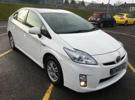 Toyota Prius, 2010 (59) white hatchback, Cvt Hybrid, 95000 miles