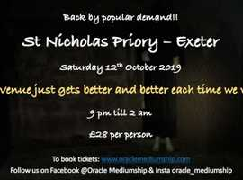 A Ghost Hunt at St Nicholas Priory - Exeter