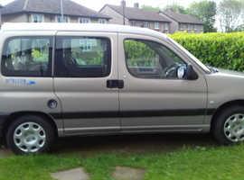 Peugeot Partner, 2009 wheelchair access (09) Blue MPV, Manual Diesel, 127,546 miles