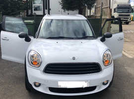Mini Countryman, 2013 (63) white Hatchback, Manual Petrol, 38500 miles