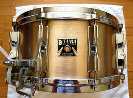 1981 Tama Mastercraft Original Bell Brass 14x6.5 Snare Drum