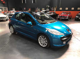 Peugeot 207, 2008 (58) Blue Hatchback, Manual Diesel, 95,000 miles