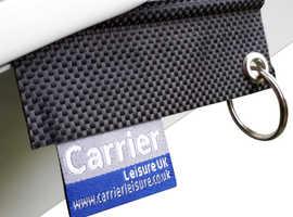 Caravan Keyring - Caravan Awning Rail Keyring - Carrier Leisure Locator Keyring