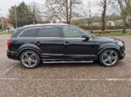 Audi Q7, 2010 (10), Semi auto Diesel, 122,000 miles