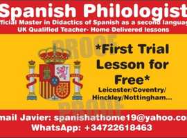 Study Spanish at the comfort of your home. One to one home delivered lessons. Leicester/Nottingham/Coalville/Loughborough