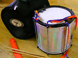 Gope Repinique Samba Drum and carry case
