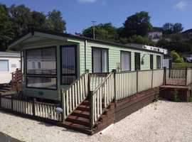 Sited Static Caravan For Sale On West Coast Of Scotland - Free Site Fees - 12 Month Park - Pet Friendly