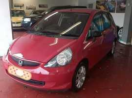 Honda Jazz, 2002 (52) Red Hatchback, Manual Petrol, 132,000 miles