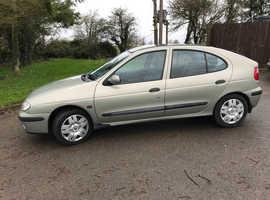 Renault Megane, 2000 (X) Green Hatchback, Manual Petrol, 67,000 miles